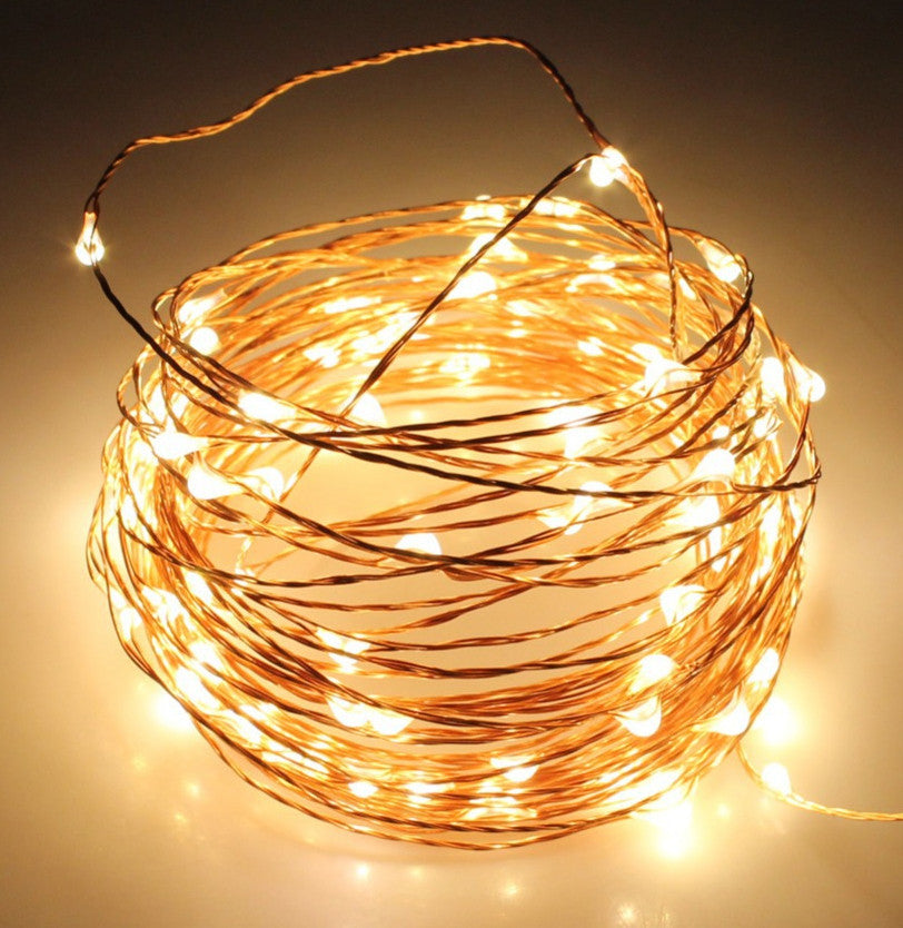 50-LED USB Seed Light (Copper) 5m - Warm White