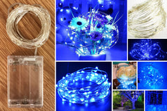 50-LED Seed Light 5m - Blue