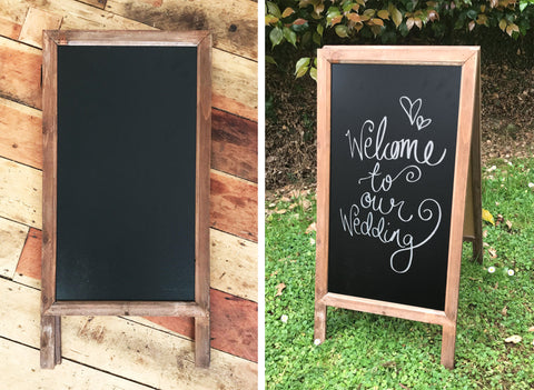 Chalkboard Stand - Large