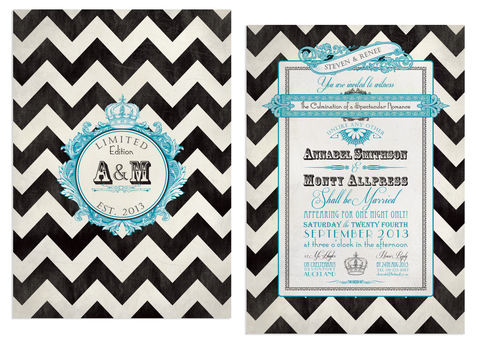 Chevron Invitation