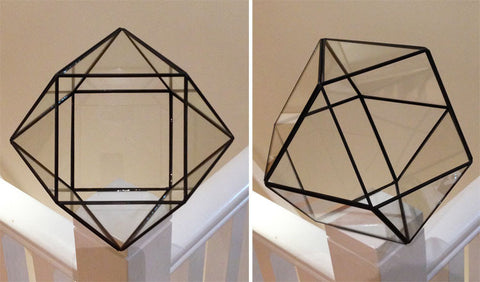 Hexagonal Glass Terrarium