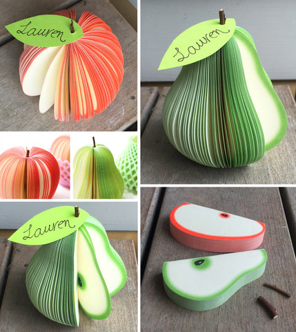 Fruit Notepad Favour