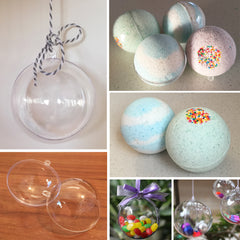 Bath Bomb Mould / Favour Bauble