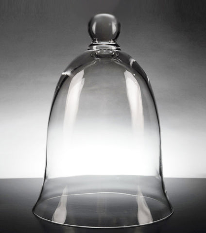Glass Dome Curved Bell Jar