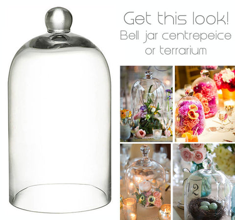 Glass Dome Bell Jar