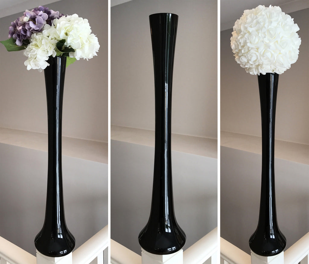 Eiffel Tower Vase - Black