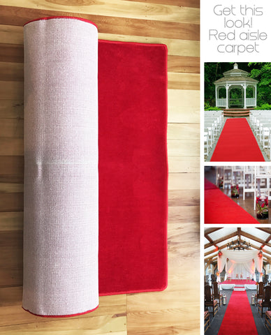 6m Red Carpet Aisle Runner