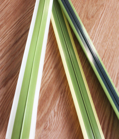 Artificial Flax Leaves x 3
