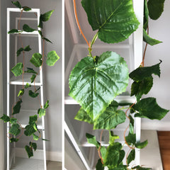 Artificial Grape Leaf Garland 2.4m