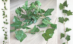 Artificial Ivy Leaf Garland 2.4m