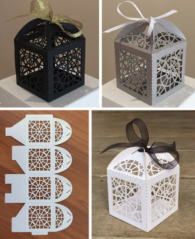 Laser Cut Favour Box
