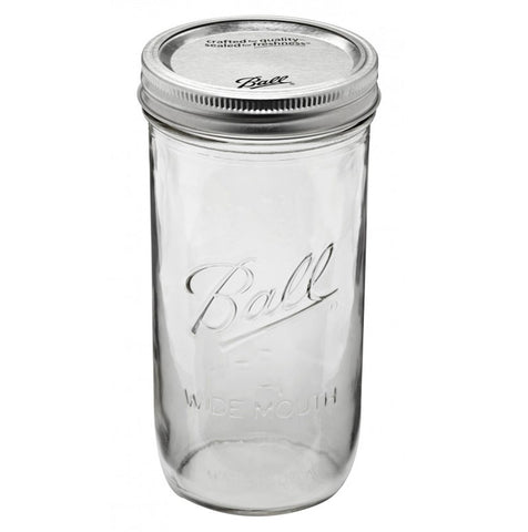 Mason Jar - Pint and a Half Wide Mouth