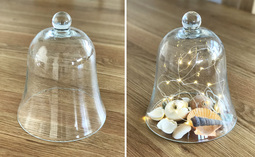 Medium Glass Dome Bell Jar Centrepiece