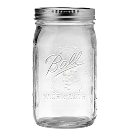 Mason Jar - Quart Wide Mouth