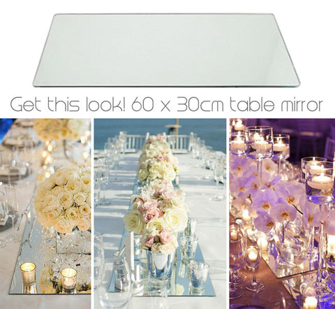 Display Mirror - 30 x 60cm Rectangular