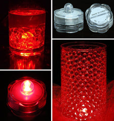 Bright Submersible LED Tealight - Red
