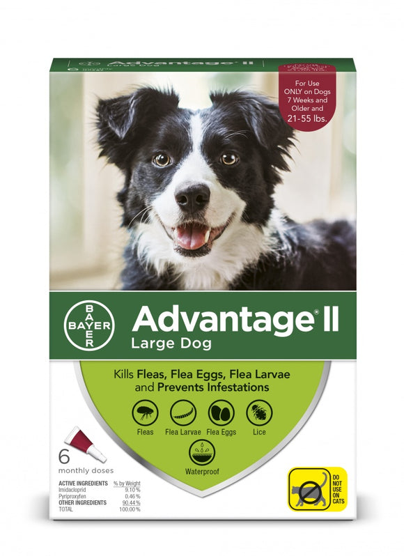 Bayer Advantage II Large Dog