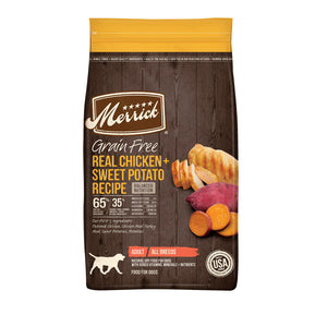 Merrick Grain Free Real Chicken & Sweet Potato Dry Dog Food