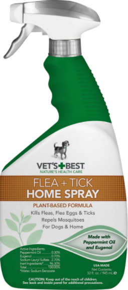 Vet's Best Flea and Tick Home Spray for Dogs