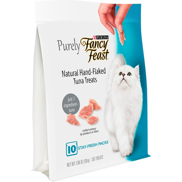 Fancy Feast Purely Natural Hand-Flaked Tuna Cat Treats