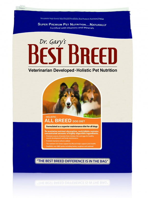 Dr. Gary's Best Breed Holistic All Breed Dry Dog Food