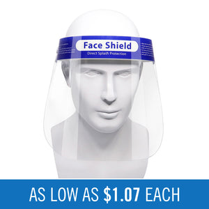 Face Shields (Adult Size)