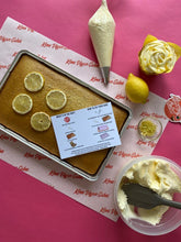 Load image into Gallery viewer, Lemon and Poppyseed Tray Cake