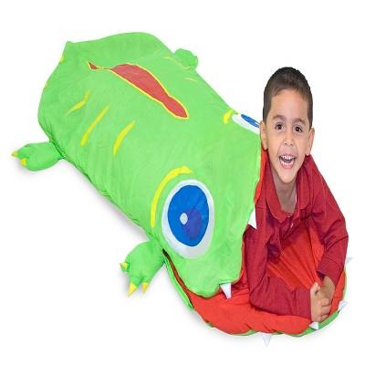 Melissa & Doug® Sunny Patch Augie Alligator Sleeping Bag (6 feet long)