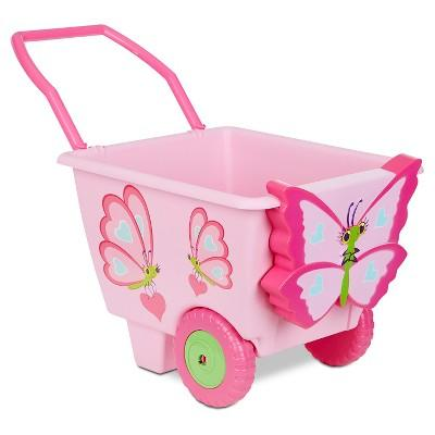 Melissa & Doug® Cutie Pie Butterfly Cart - Pretend Play Toy for Kids