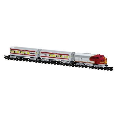 Lionel Santa Fe Diesel Ready-to-Play Passenger Train Set