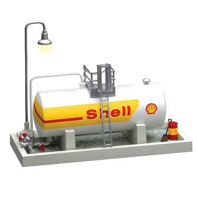 Lionel Shell Oil Storage Tank with Light