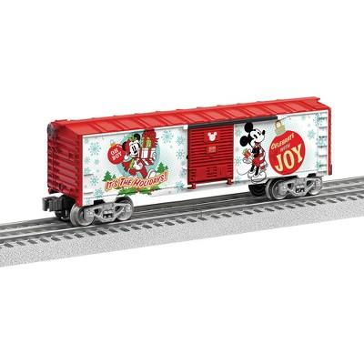 Lionel Disney Mickey Mouse Happy Holidays Boxcar