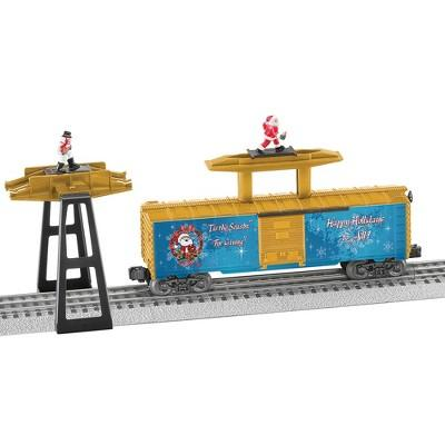 Lionel Santa and Snowman Tag Boxcar