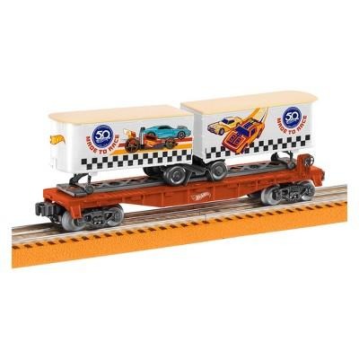 Lionel Hot Wheels 50th Anniversary Flatcar with Piggybacks