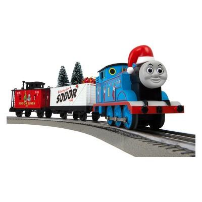Lionel Thomas & Friends Christmas Freight LionChief Train Set with Bluetooth