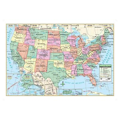Kappa Map United States Wall Map 40