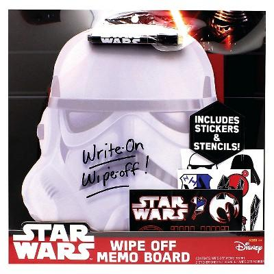 Star Wars Wipe Off Memo Board