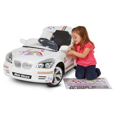 Kid Trax® Custom Car 6V Ride-On - White