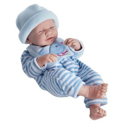 "JC Toys La Newborn 17"" Newborn Boy Doll - Blue Bird Outfit"