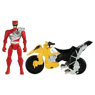 Power Rangers Dino Charge – Dino Cycle with Red Ranger