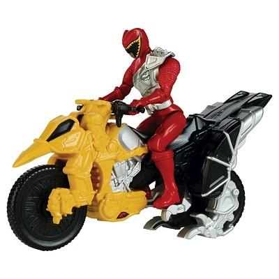 Power Rangers Dino Super Charge - Dino Cycle and Red Ranger