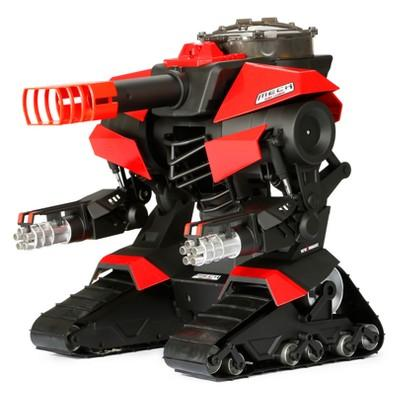 New Bright Radio Control RC FF 12.8V M.E.C.H Red & Black Robo Cannon 15.25""