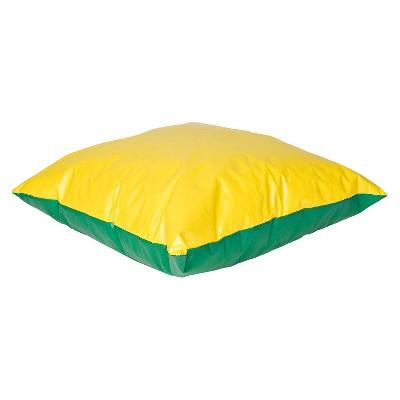 foamnasium™ Floor Pillow - Yellow/Green (Small)