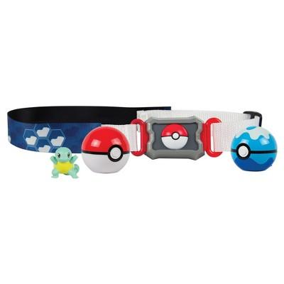 Pokemon Squirtlle Water Type Belt, Poké Ball, Dive Ball