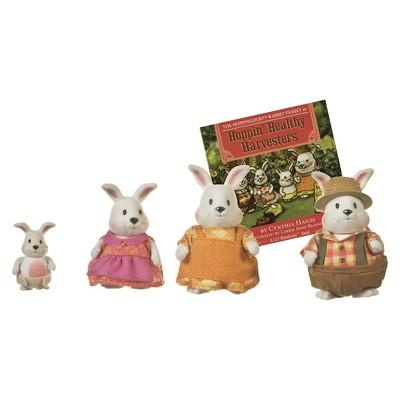 Li'l Woodzeez Hoppingoods Rabbit Family