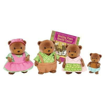 Li'l Woodzeez Bear Family