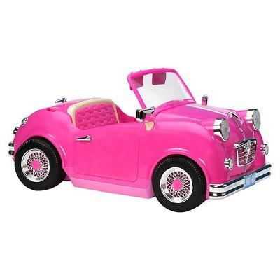 Our Generation Pink In the Driver's Seat Retro Cruiser with Roof for 18