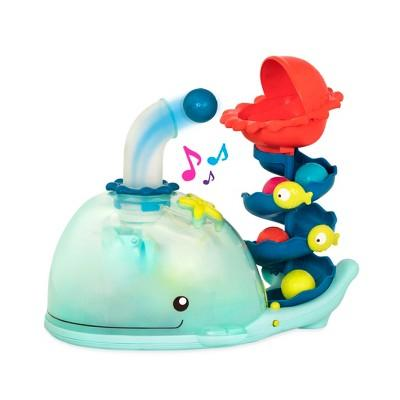B. toys Poppity Whale Pop Ball Popper with Music and Lights