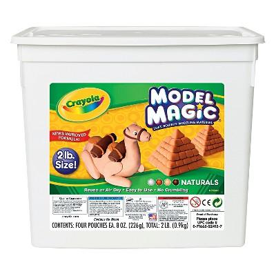 Crayola Model Magic Modeling Compound 2lbs Naturals
