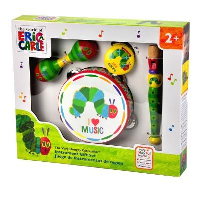 Eric Carle Caterpillar Instrument Gift Set - Boxed
